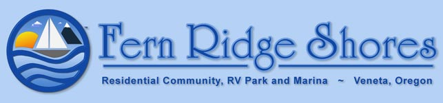 Fern Ridge Shores Masthead - Residential Community, RV Park & Marina